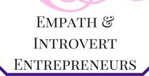 Empath and Introvert Entrepreneurs / Empaths and highly sensitive people can create the best business's if they have the right tools for online business growth. As an introvert Entrepreneur myself, I understand how draining it can be. Here are some tools to help Spiritual Entrepreneurs, Empath Entrepreneurs, Therapists, Bloggers and Highly Sensitive People Start their own online business