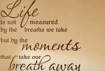 Words to ponder... / Wise words  / by ~Angels & Skulls~