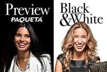 Preview Black & White / Saudades do verão? Então vem conferir as novidades que acabaram de chegar em nossas lojas! http://bit.ly/1esOAt3