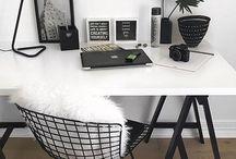 INTERIOR > OFFICE > / Office Inspirations / Arbeitszimmer Inspirationen / Einrichtung / Interior / Arbeitsplatz / Homeoffice