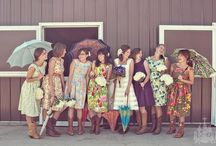 Pretty Maids.... / Inspiration for cute Bridesmaid looks....