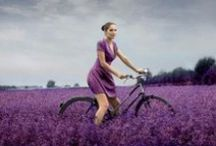 Ladies on bikes / Fab looking ladies on bicycles.