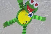 okul öncesi sanat (preschool art) / by Songül DOĞANER