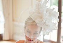 Bridal hats and fascinator / Wedding or bridal hats and fascinators