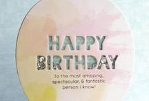Cards for inspiration - Birthday