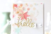 Cards for inspiration - Hello