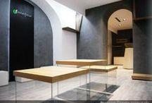MONFLEUR NATURA DESIGN - Ramificazioni naturali e volumi di cemento