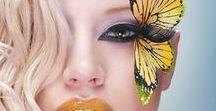 To AYLA: Butterflies / A butterfly board for my beautiful niece in Brazil: Ayla.