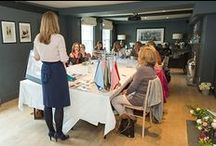 Confident with Colour (Summer) Workshop_May 2016 @ The George in Rye / Styling, floristry and interior design workshop. Hosts: Jane Mather, Kim Watson and Wendy Newman.