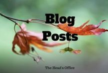 The Head's Office blog posts / Posts from the award winning 'The Head's Office' blog at https://theheadsoffice.co.uk