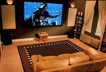 Home Theater / Inspirational home theater ideas.