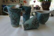 ceramics made by me / Ceramics made by Kari (Kajsa) Astrup-Geelmuyden.
