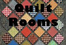 Quilt Rooms / What would your dream room look like? / by Quilters Club of America