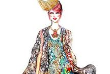 Fashion Illustrations / Fashion Art , Illustrations
