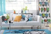 Designers Guild / Ideas on how to use these wow factor fabrics in your home