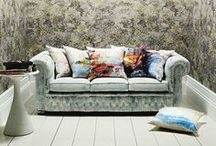 Jessica Zoob / Romo fabrics have worked with artist Jessica Zoob to create this amazing new collection unlike anything we have seen before