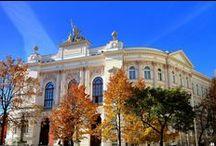 Gmach Główny / Gmach Główny Politechniki Warszawskiej - sesja zdjęciowa wykonana we wrześniu 2014 r. po remoncie frontowej elewacji.
