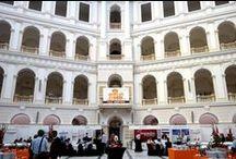 Konferencje, seminaria, sympozja / Tablica poświęcona konferencjom naukowym i sympozjom