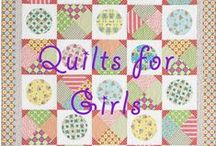Quilts for Girls / Pink and purple and all that is fit for a sweet princess. Check this board out for great quilts for girls! / by Quilters Club of America