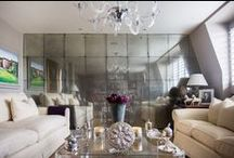 Mirrors / Antique mirror glass designed and made by Rupert Bevan