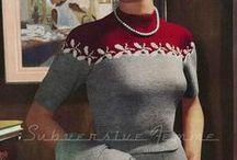 Oldies knitting