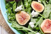 ALL THE SALADS / All kinds of salad recipes!   Fruit salad, veggie salad, quinoa salad, power salad, dinner salad