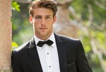 Gents Tuxedos / Whether it's wedding, prom or a special event we have a large range of tux styles for our gents. Don't go to a big box store and hope that the right size comes in. We have staff on hand to be sure our guys are measured correctly and alternations made if needed.