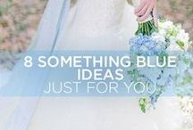 """Something Blue / Every bride needs that """"something blue"""" for their wedding. Here are a few ideas we've come across that might work for your big day."""