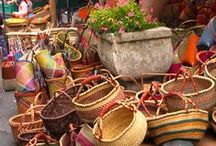 >> Markets Around The World << / Stimulate all your senses >> fruits, flowers, trinkets, art, fashion, COLOUR. Contribute email: hello@storyv.com