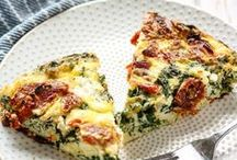 BRUNCH RECIPE IDEAS / brunch recipes galore. the best of both worlds!