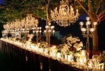 Garden Wedding / Beautiful ideas for outdoor weddings.