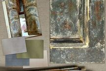 FARRAGOZ Mood Boards / Creating mood boards to inspire with the art of patina on paint.