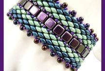 Tila and super duo bead projects / Inspiration pics for tila projects
