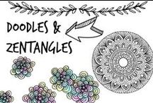 ✍ Doodles & Zentangles
