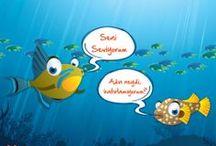 Balıkların Hayatı :) / by Kılıç Deniz