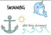 ⚓︎ Swimming