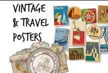 ✇ Vintage & Travel Posters Adv.