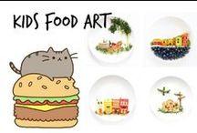 ♨︎ Kids Food Art