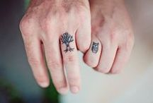 Finger tattoos: