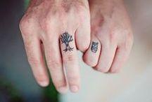 Finger tattoos: