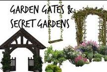 ☘Garden Gates, Secret Gardens