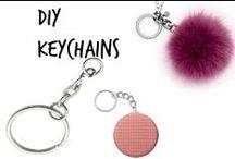 ✄ Diy Keychains