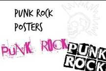 ♯ Punk Rock Posters Concerts & Festivals