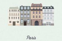 Serveuse de Paris / Someday I'll live in Paris