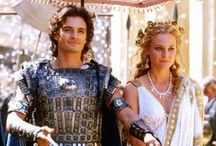 """Troy / """"If they ever tell my story, let them say that I walked with giants. Men rise and fall like the winter wheat, but these names will never die. Let them say I lived in the time of Hector, tamer of horses. Let them say I lived in the time of Achilles."""" ~ Odysseus"""