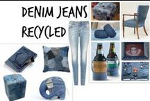 ✄ Denim Jeans Recycled
