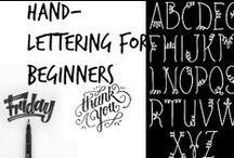 ✍ Hand-Lettering for Beginners