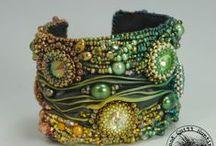 Shibori jewelry / Shibori jewelry