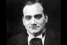 "ENRICO CARUSO / Perhaps the greatest of them all. And so kind! Caruso is said to belong to ""the great afterglow"" of Italian singers--those who carried the tradition of the Golden Age of opera in the XIX century---into the XX. What writers like that forget is that his voice was absolutely incomparable"