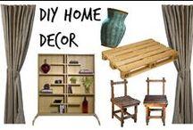 ✄ ⌂ Diy Home Decor